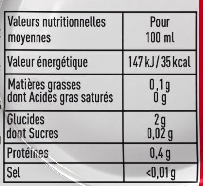 Kronenbourg 6X50CL BOITE KRO 4.2 DEGRE ALCOOL - Valori nutrizionali - fr