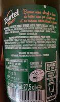 Tourtel - 27,5cl tourtel twist agrume - 0.00 degre alcool - Informations nutritionnelles - fr
