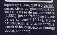1664 6x25cl 1664 fruits rouges 4.5 degre alcool - Ingrédients - fr