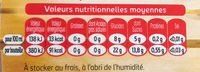 Tourtel - 27,5cl tourtel twist ora sanguine - 0.00 degre alcool - Informations nutritionnelles - fr
