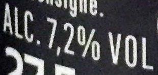 Carlsberg - 27,5cl carlsberg elephant - 7.20 degre alcool - Informations nutritionnelles - fr