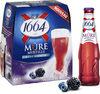 1664 - 6x25cl 1664 mure myrtille - 4.50 degre alcool - Prodotto
