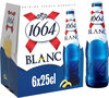 1664 6x25cl 1664 blanc 5.0 degre alcool - Product