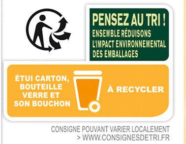 Tourtel - 6x27,5cl tourtel twist peche - 0.00 degre alcool - Instruction de recyclage et/ou informations d'emballage - fr