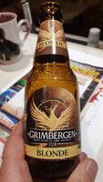 Grimbergen - 25cl grimbergen blonde - 6.70 degre alcool - Valori nutrizionali - fr