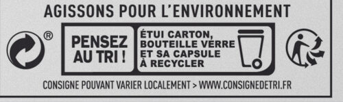 Bière de Noël - Istruzioni per il riciclaggio e/o informazioni sull'imballaggio - fr