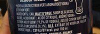 Tuborg - 33cl skoll caipi - 6.00 degre alcool - Ingredienti - fr