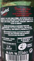 Tourtel - 27,5cl tourtel twist cerise - 0.00 degre alcool - Ingrédients - fr