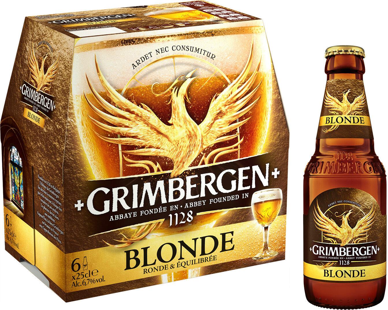 Grimbergen - 6x25cl grimbergen blonde - 6.70 degre alcool - Prodotto - fr