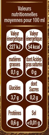 Grimbergen - 6x25cl grimbergen blonde - 6.70 degre alcool - Valori nutrizionali - fr