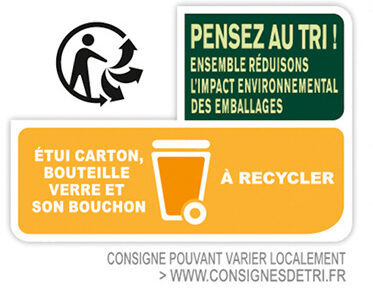 Twist citron vert 0.0% - Recycling instructions and/or packaging information - fr