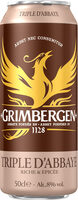 Grimbergen 50CL CAN GRIMBERGEN TRIPLE 8.0 DEGRE ALCOOL - Prodotto - fr