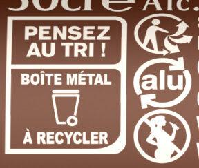 Grimbergen 50CL CAN GRIMBERGEN TRIPLE 8.0 DEGRE ALCOOL - Istruzioni per il riciclaggio e/o informazioni sull'imballaggio - fr