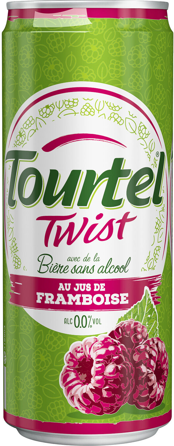 Tourtel - 33cl can tourtel twist framboise - 0.00 degre alcool - Prodotto - fr