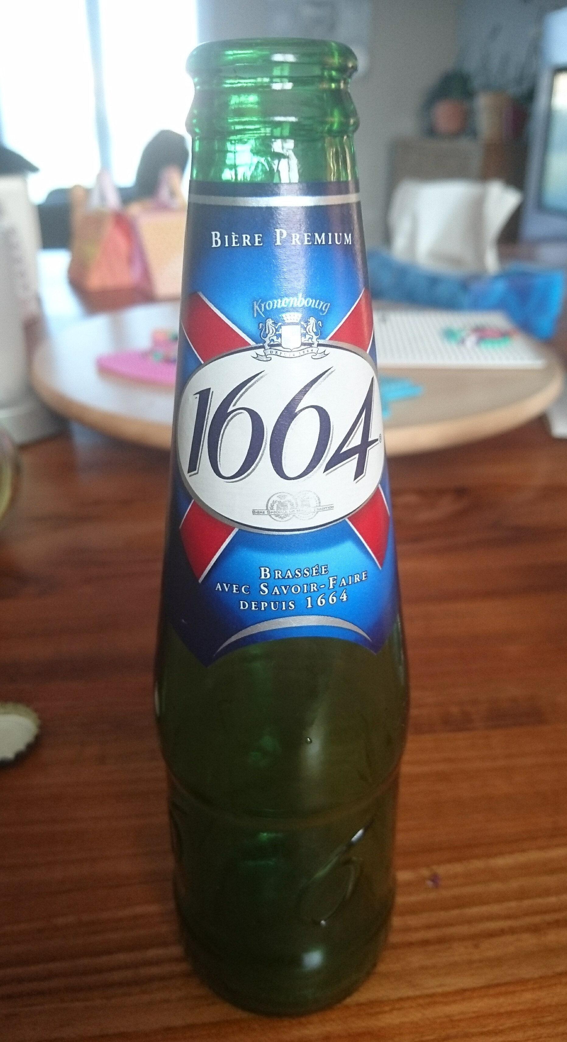 1664 - 25cl 1664 - 5.50 degre alcool - Recyclinginstructies en / of verpakkingsinformatie - fr