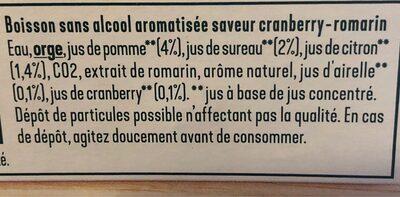 Tourtel botanics - Inhaltsstoffe