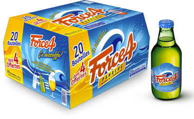 Force 4 - 20x25cl force 4 dt 4 offert - 0.40 degre alcool - Prodotto - fr
