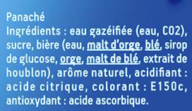 Force 4 - 20x25cl force 4 dt 4 offert - 0.40 degre alcool - Ingredienti - fr