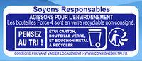 Force 4 - 20x25cl force 4 dt 4 offert - 0.40 degre alcool - Istruzioni per il riciclaggio e/o informazioni sull'imballaggio - fr