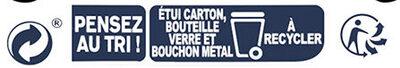 Cosmopolitan - Istruzioni per il riciclaggio e/o informazioni sull'imballaggio - fr