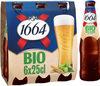 1664 - 6x25cl 1664 bio fr-bio-01 - 5.50 degre alcool - Produit