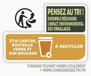 Bière Sans Alcool CITRON 0,0% - Istruzioni per il riciclaggio e/o informazioni sull'imballaggio - fr