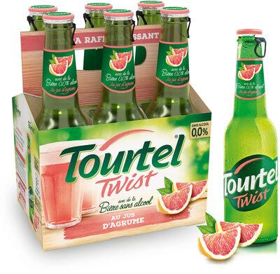 Tourtel - 6x27,5cl tourtel twist agrume - 0.00 degre alcool - Produit - fr