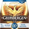 Grimbergen - grimbergen 0.0% bot 6x0,25 - 0.00 degre alcool - Product