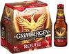 Grimbergen - 6x25cl grimbergen rouge - 5.50 degre alcool - Produit