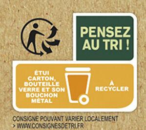 Tourtel - 6x27,5cl ttwist citr frbio-01 - 0.00 degre alcool - Instruction de recyclage et/ou informations d'emballage - fr