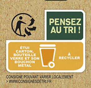 Tourtel - 6x27,5cl ttwist agru frbio-01 - 0.00 degre alcool - Instruction de recyclage et/ou informations d'emballage - fr