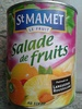 Salade de Fruits au sirop -