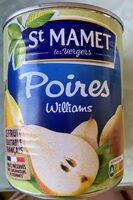 Poires Williams - Produit - fr