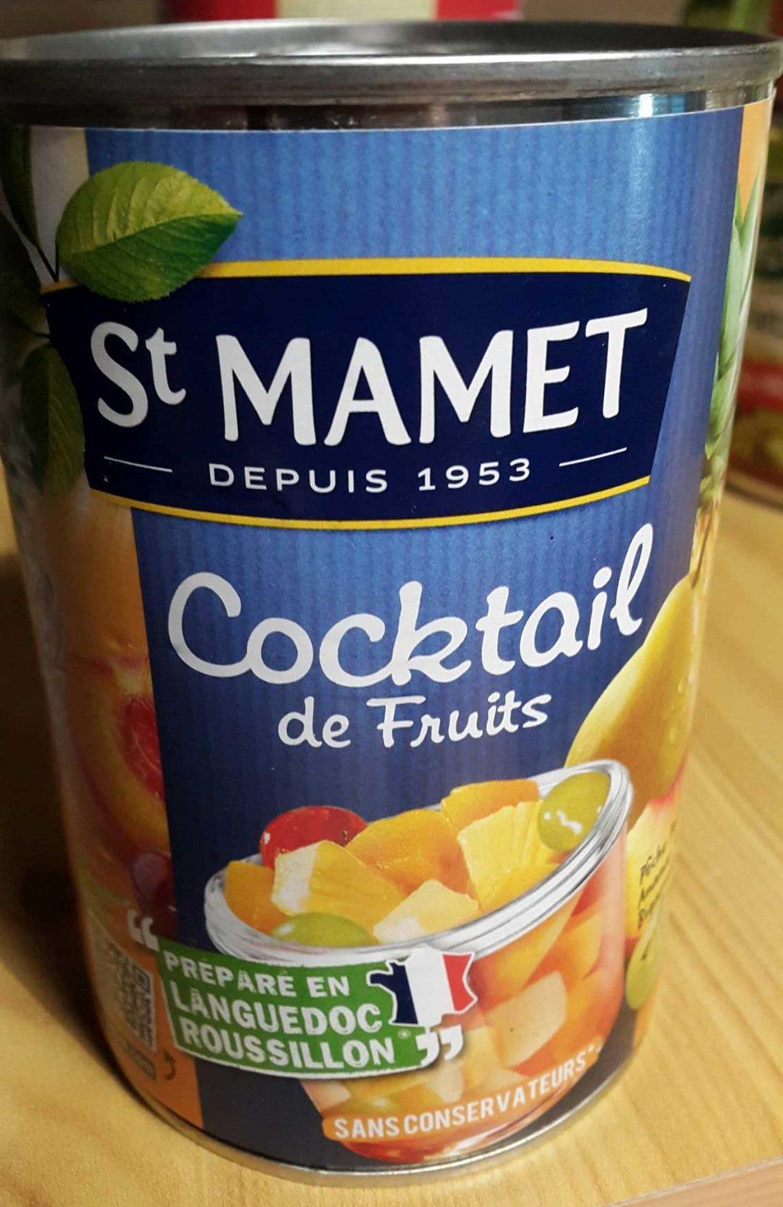 Cocktail de fruits - Product