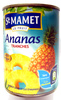 Ananas Tranches au Sirop Léger et Jus d'Ananas - Product
