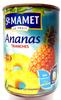 Ananas Tranches au Sirop Léger et Jus d'Ananas - Produit