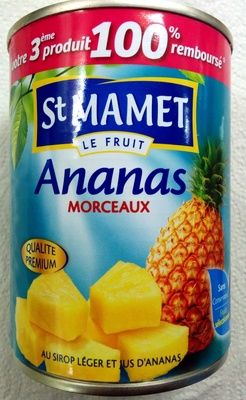 Ananas morceaux - Product