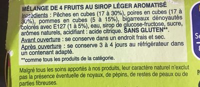 Récolte du Verger (x3) - Ingrédients - fr