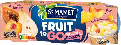 Fruit To Go - Les Fruits du Paradis - Product - fr