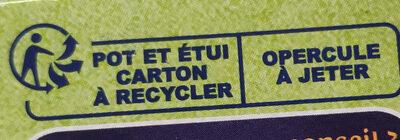 Fruit To Go - Les fruits du Verger - Istruzioni per il riciclaggio e/o informazioni sull'imballaggio - fr
