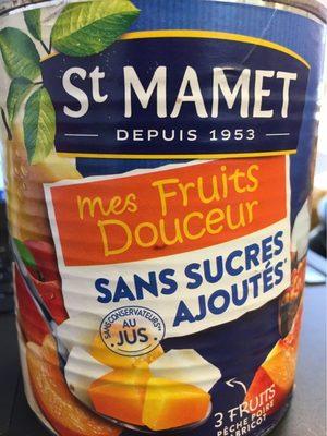 Mes fruits douceurs sans sucre ajouté - Produit - fr
