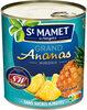 Grand ananas morceaux sans sucres ajoutés - Produit