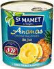 Ananas origine Philippines en tranches au jus Sans sucres ajoutés - Produit