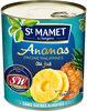 Ananas origine Philippines en tranches au jus Sans sucres ajoutés - Product
