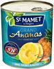 Grand Ananas Tranches Sans sucres ajoutés - 製品