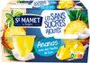Cup Ananas avec une touche de Coco Sans Sucres Ajoutés - Product