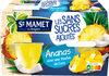 Cup Ananas avec une touche de Coco Sans Sucres Ajoutés - Produit