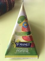 Compote Pomme st mamet - Product - fr