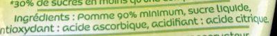 Compote Pomme st mamet - Ingrediënten - fr
