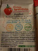 Envie de fruit - Ingrédients